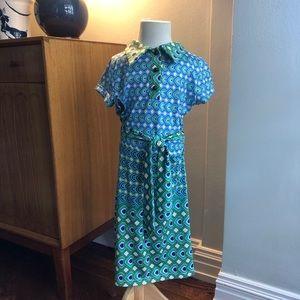 Laundry by Shelli Segal girl's print dress size 8